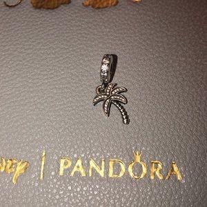 Authentic Pandora sparkling Palm tree